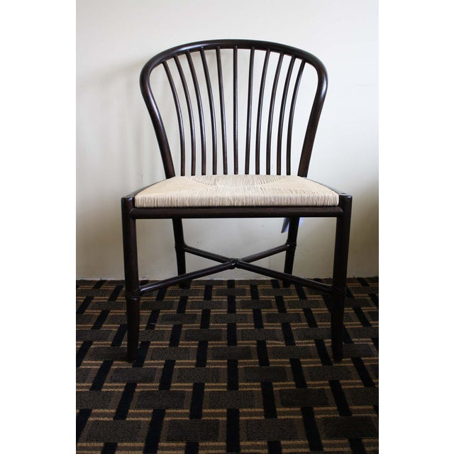 McGuire Ulloa Dining Chair in Dark Tobacco - Image 2 of 6