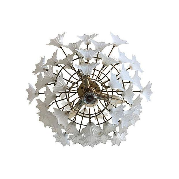 Flower Blossoms Chandelier - Image 6 of 9