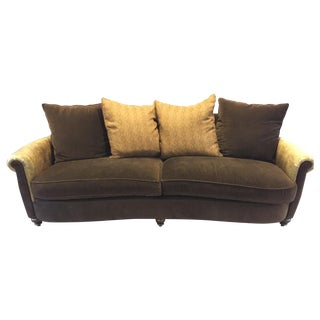 Lee Industries Leather & Microfiber Couch