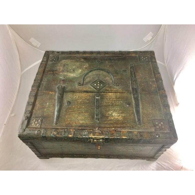 19 Century Oriental Cashbox - Image 7 of 10