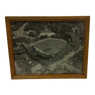 Vintage Black & White Photograph -Forbes Field Pittsburgh, Pa 1960