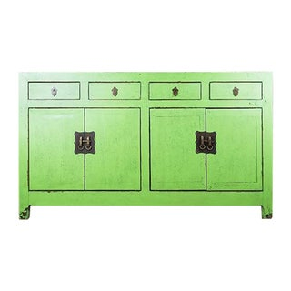 Green Painted Cabinet