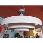 Image of 1950s Saturn Ring Ceiling Light by Kurt Versen