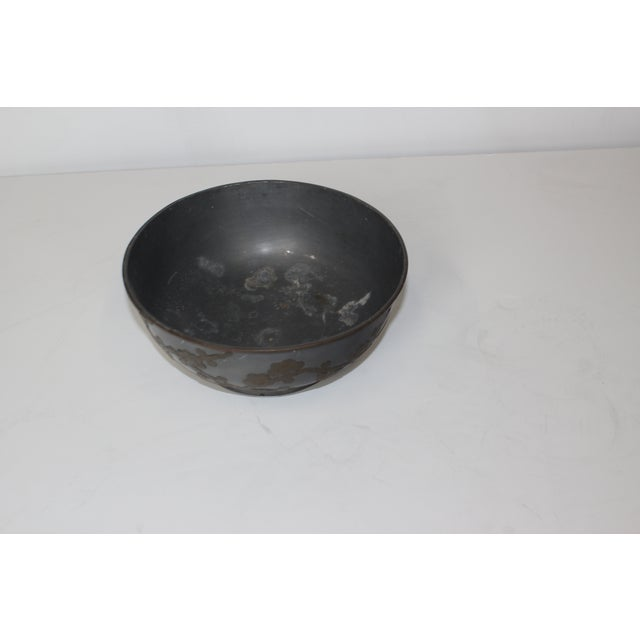 Image of 1950s Pewter Bowl
