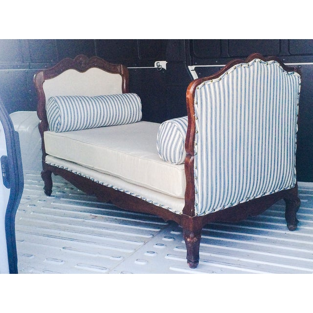 Antique French Country Day Bed - Image 2 of 3