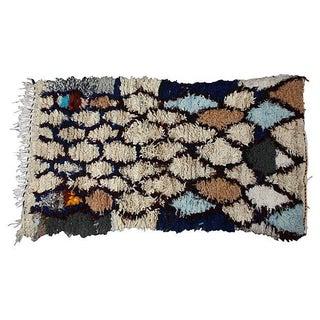 Moroccan Azilal Wool Rug - 3′ × 5′2″