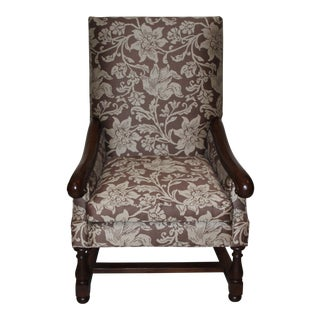 Pearson Large Floral Print Armchair