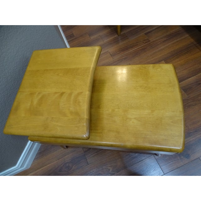 Heywood Wakefield Cocktail Table & Side Tables - Set of 3 - Image 8 of 11
