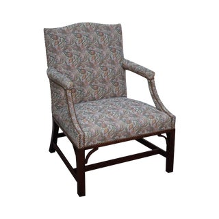 Kittinger Colonial Williamsburg Chippendale George II Style Armchair