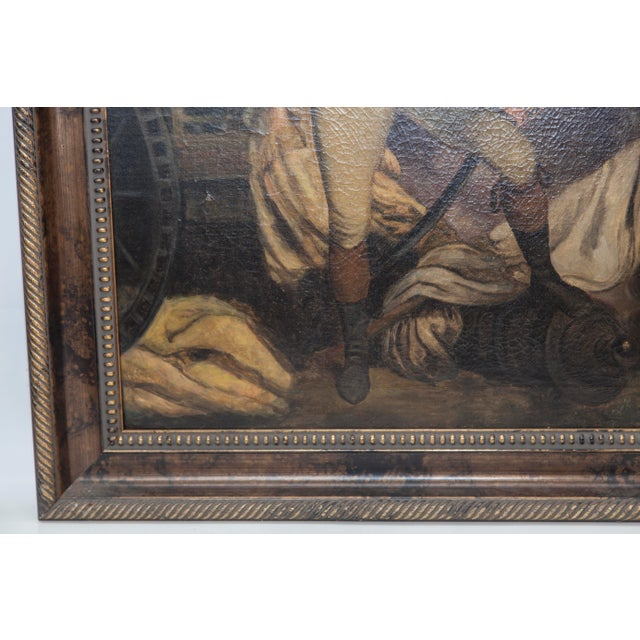 VIntage Reproduction Officer Painting - Image 7 of 10