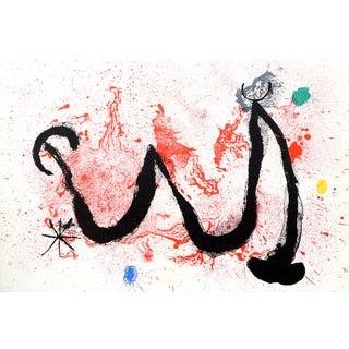 Joan Miro, Danse De Fou, Offset Lithograph