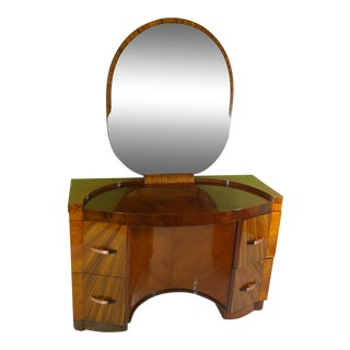 Polished Art Deco Vanity