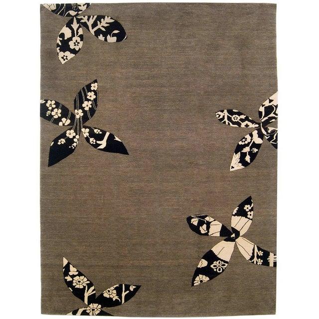 Madeline Weinrib Putty Lark Tibetan Wool Rug - 7′10″ × 10′1″ - Image 1 of 9