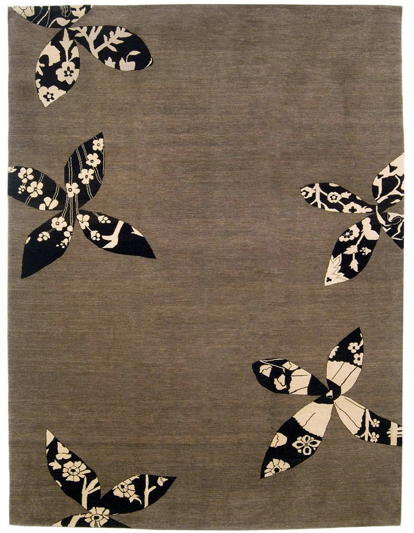 Madeline Weinrib Putty Lark Tibetan Wool Rug   7u203210u2033 × 10u20321