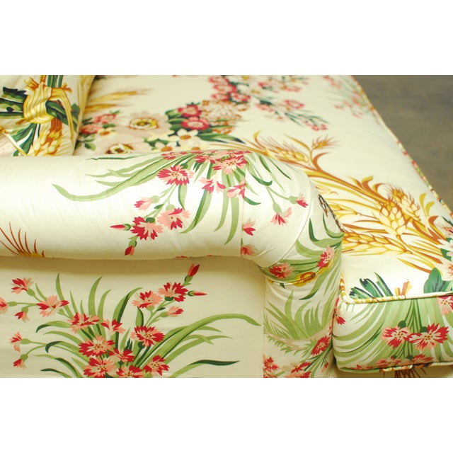 Brunschwig & Fils French Upholstered Toile Sofa - Image 7 of 10