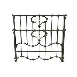 Green Iron Bedframe