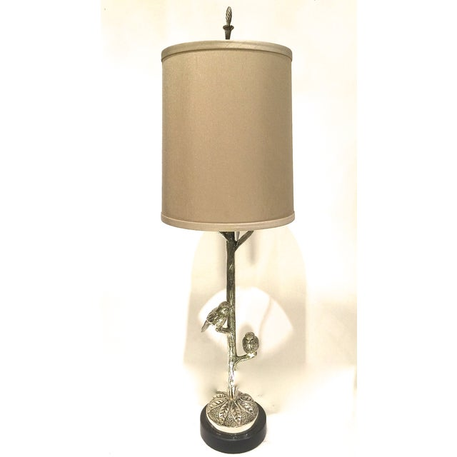 Transitional Table Lamp With Birds - Image 2 of 5
