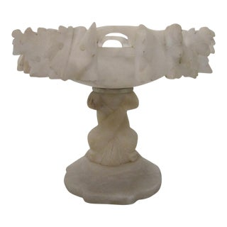 Italian Carved Marble Compote