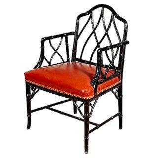 John Widdicomb Style Bamboo Chair