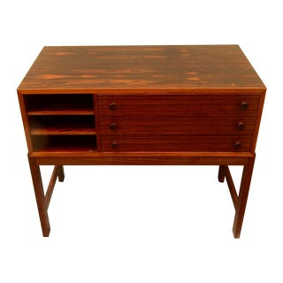 Danish Mid-Century Rosewood Storage Chest, 1960's