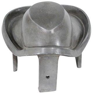 Vintage Industrial Aluminum Hat Block