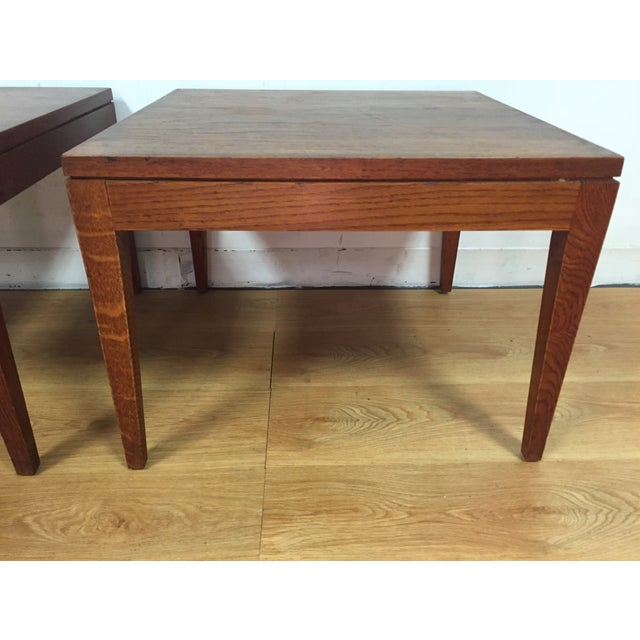 Image of Mid-Century End Tables - A Pair