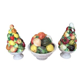 Vintage Italian Fruit Topiaries - 3