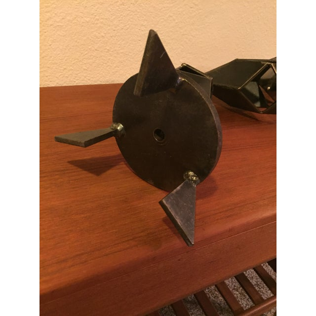 Mid-Century Modern Signed Sculpture - Image 10 of 11