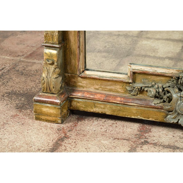 19th-Century French Marble Top Console - Image 6 of 10