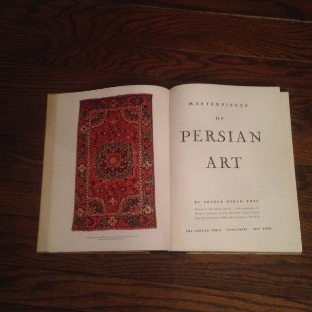"1945 ""Masterpieces of Persian Art"" Book - Image 5 of 11"