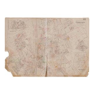 Vintage Hopkins Map of Chappaqua