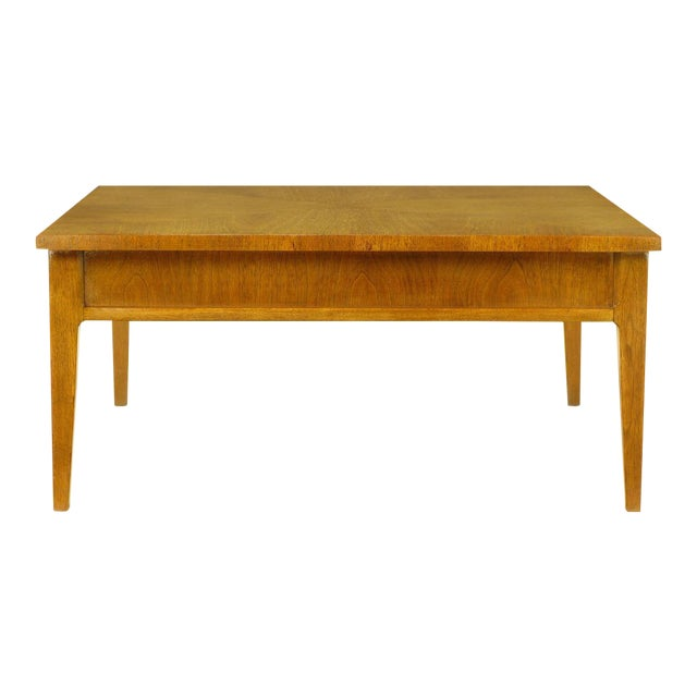 Image of Michael Taylor For Baker New World Mahogany Coffee Table