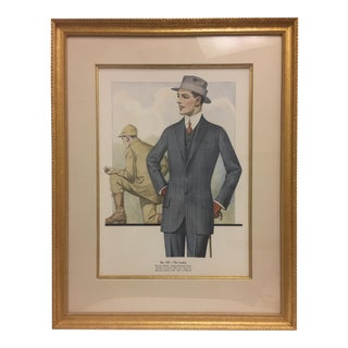 Framed Antique Clothing Line Print, 1 of 14