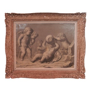 18th Century French Grisaille Painting