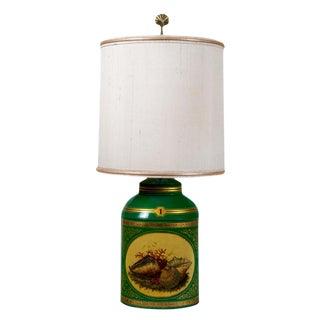 Apple Green Tea Canister / Lamp #1