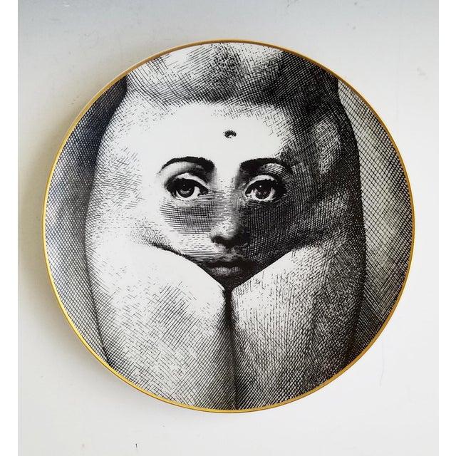 Image of Vintage Fornasetti Motiv 19 Porcelain Plate for Rosenthal