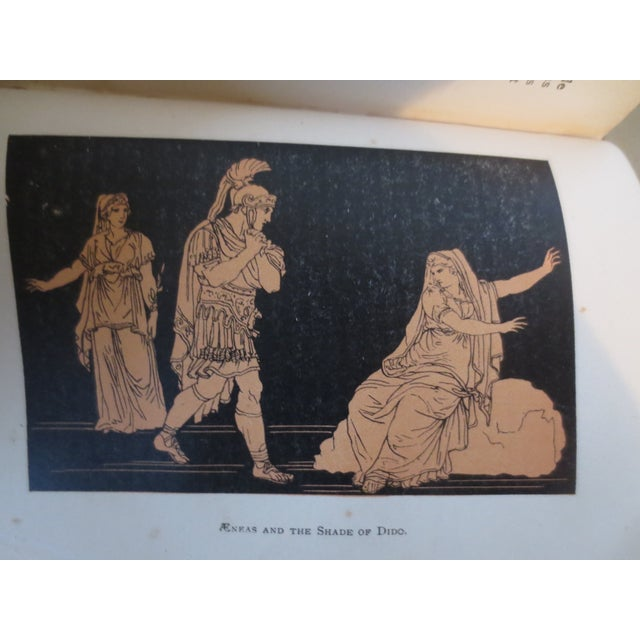 Image of Antique 'Stories of the Iliad & the Aeneid' Book
