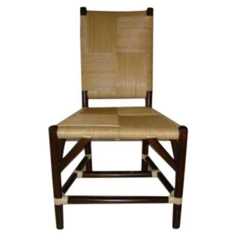 Donghia Rattan Side Chair - Image 1 of 2