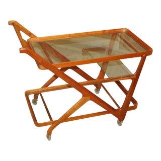 1950s Vintage Cesare Lacca Bar Cart