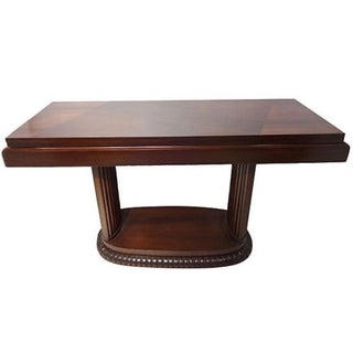 Mid-Century American Fruit Wood Console
