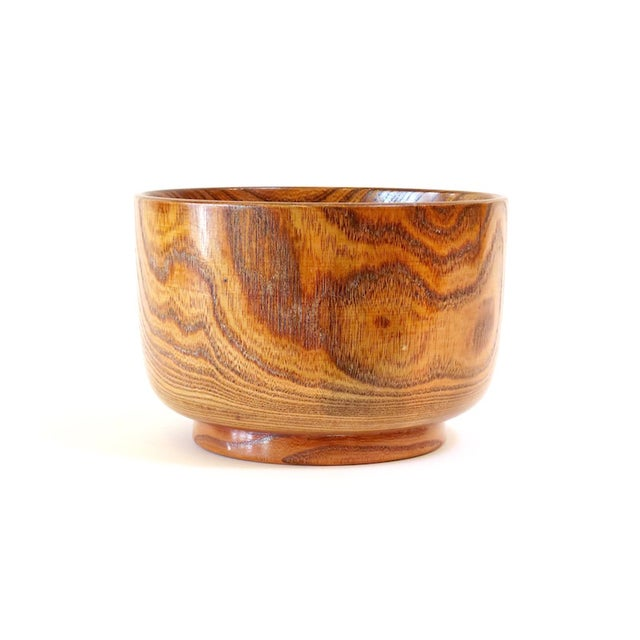 Image of Lacquered Wood Bowl
