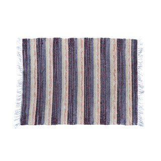 "Swedish Handwoven Rug - 2'11"" X 2'2"""