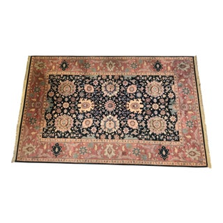 "Traditional Salmon Colour Area Rug - 5'8"" x 9'2"""