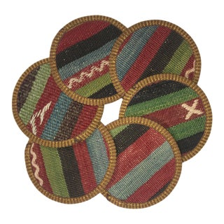 Kilim Coasters Set of 6 | Yilmaz
