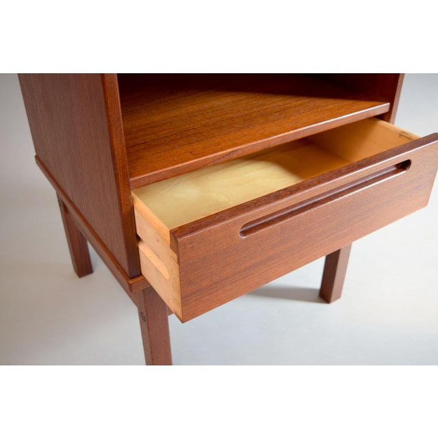 Nils Jonsson Teak Nightstand or Side Table - Image 5 of 8