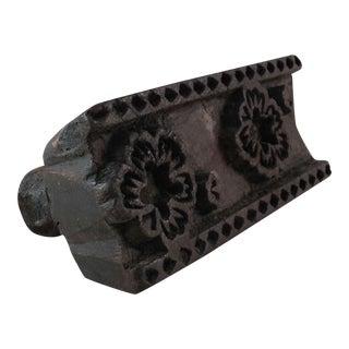 Indian Textile Stamping Block
