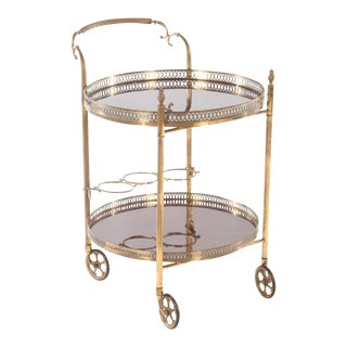 Petite French Drinks Cart