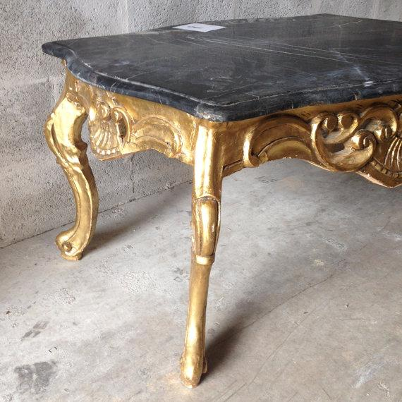 Handmade Coffee Table in Louis XVI Style - Image 4 of 6
