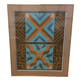 """Splashing Cross"" Serigraph by Billy Ray Hastings"
