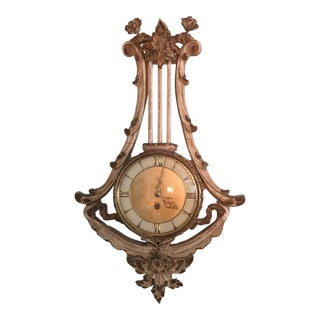 French Provincial Wall Clock